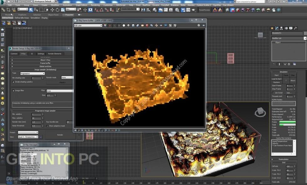 Phoenix FD for Maya 2018 3dsMax 2014-2018 Latest Version Download-GetintoPC.com