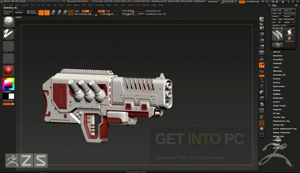 Pixologic ZBrush 4R8 Direct Link Download