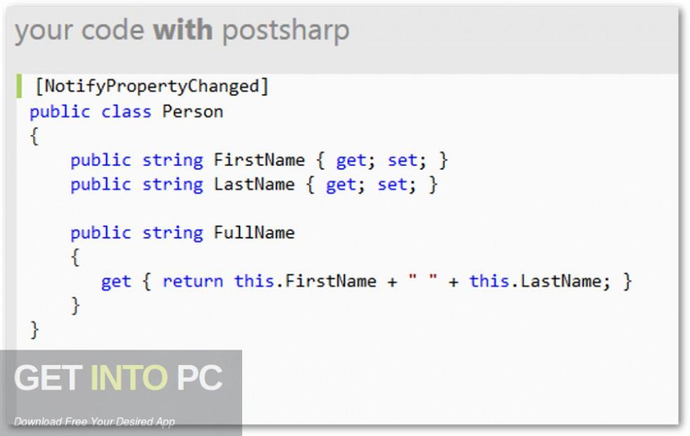PostSharp v6.0.18 Ultimate with All Edition Offline Installer Download-GetintoPC.com