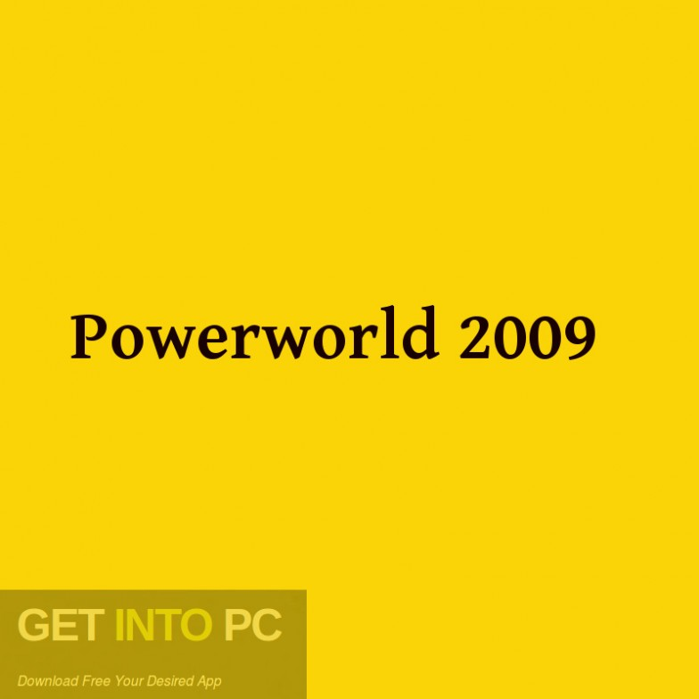 Powerworld 2009 Free Download-GetintoPC.com