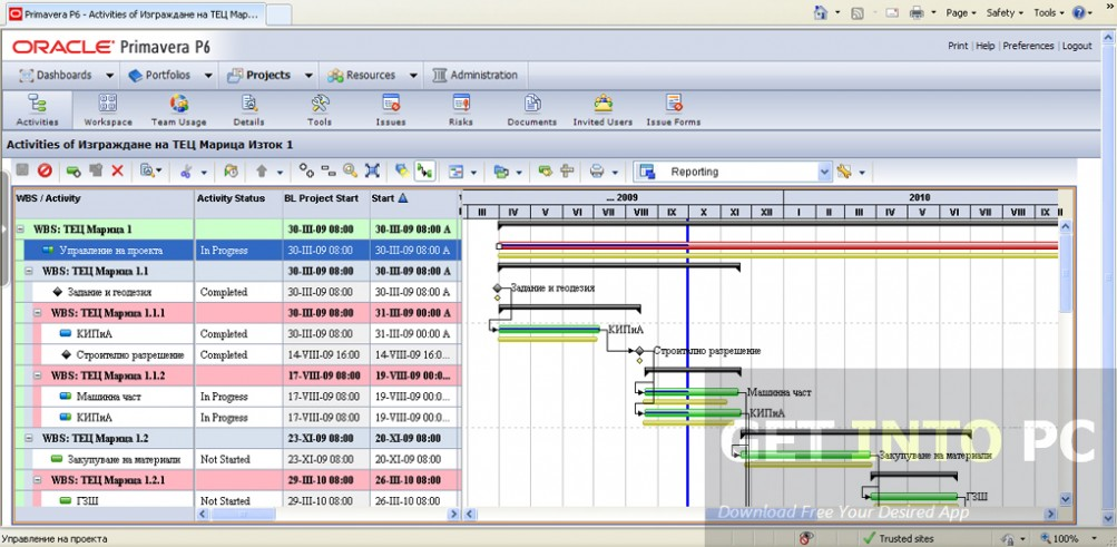 Download Primavera Project Planner P6 For Windows
