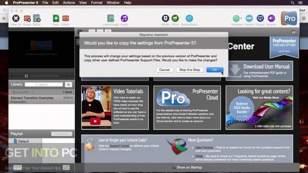ProPresenter 6.0.3.8 Direct Link Download-GetintoPC.com