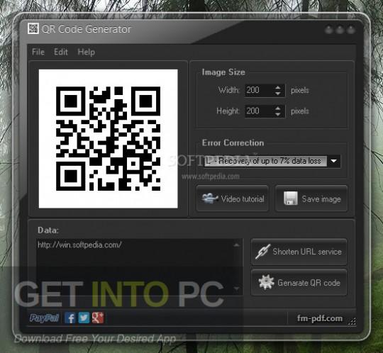 QR Code Generator Direct Link Download-GetintoPC.com