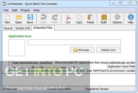 Quick Batch File Compiler Offline Installer Download