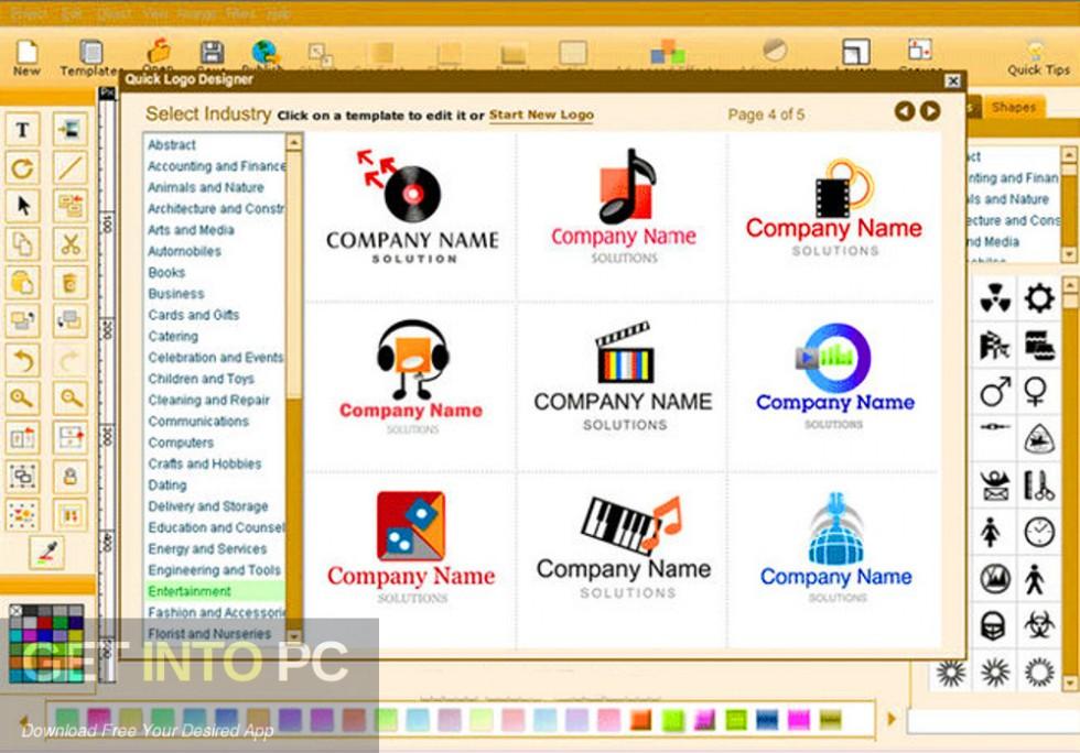 Quick Logo Designer Latest Version Download-GetintoPC.com