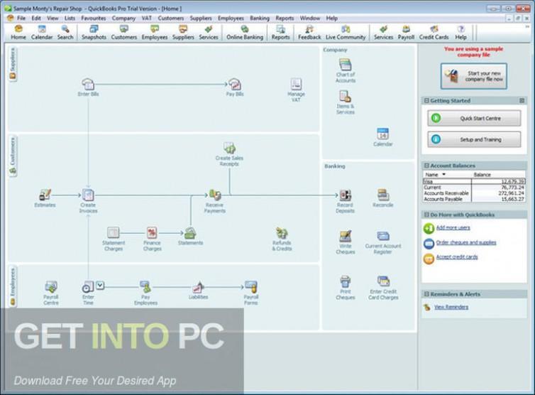 Quickbooks Pro 2013 Direct Link Download-GetintoPC.com