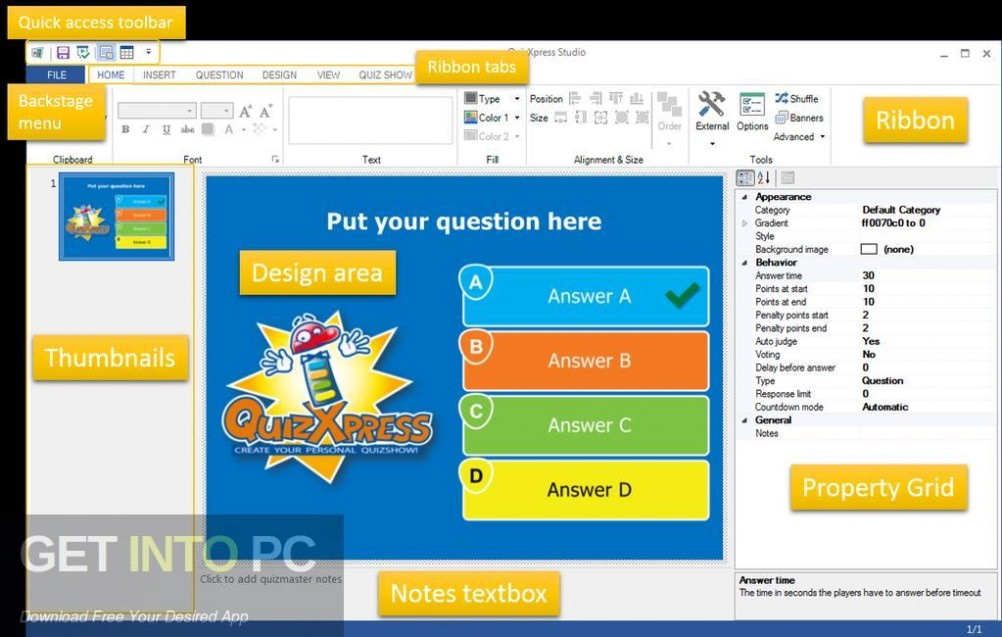 QuizXpress Studio Offline Installer Download-GetintoPC.com