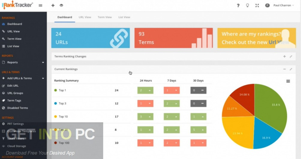 Rank Tracker Enterprise 8 Offline Installer Download-GetintoPC.com