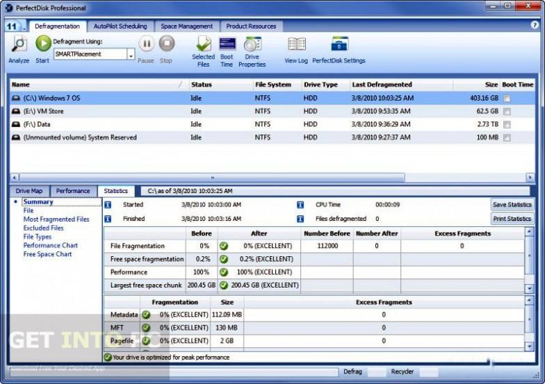 Raxco PerfectDisk Professional Latest Version Download