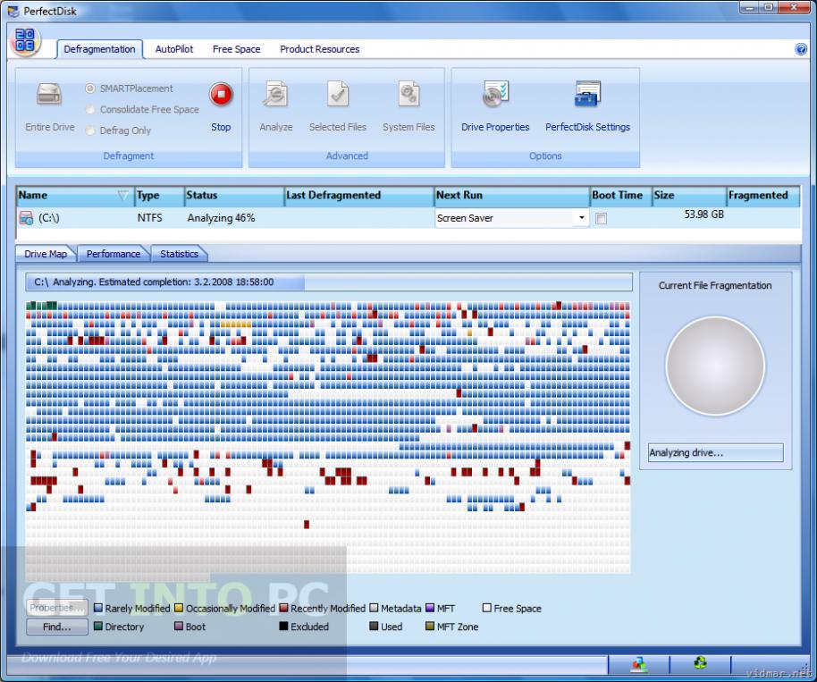 Raxco PerfectDisk Professional Offline Installer Download