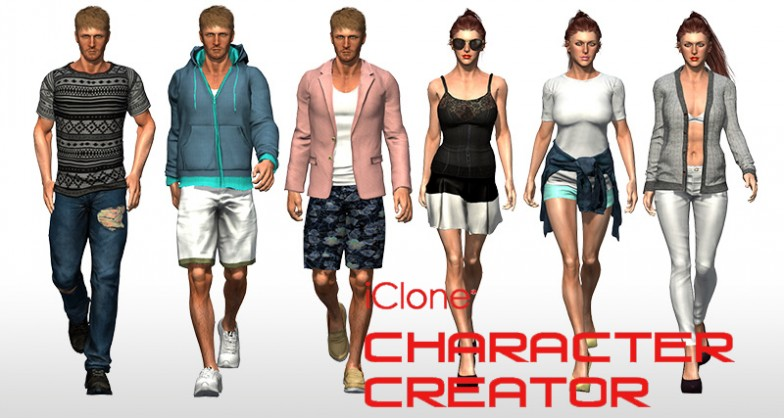 Reallusion iClone Character Creator With Content Pack Free Download