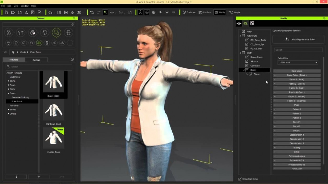 Reallusion iClone Character Creator With Content Pack Offline Installer Download
