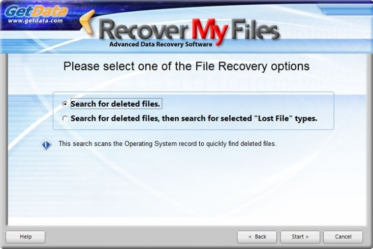 Recover My Files software download