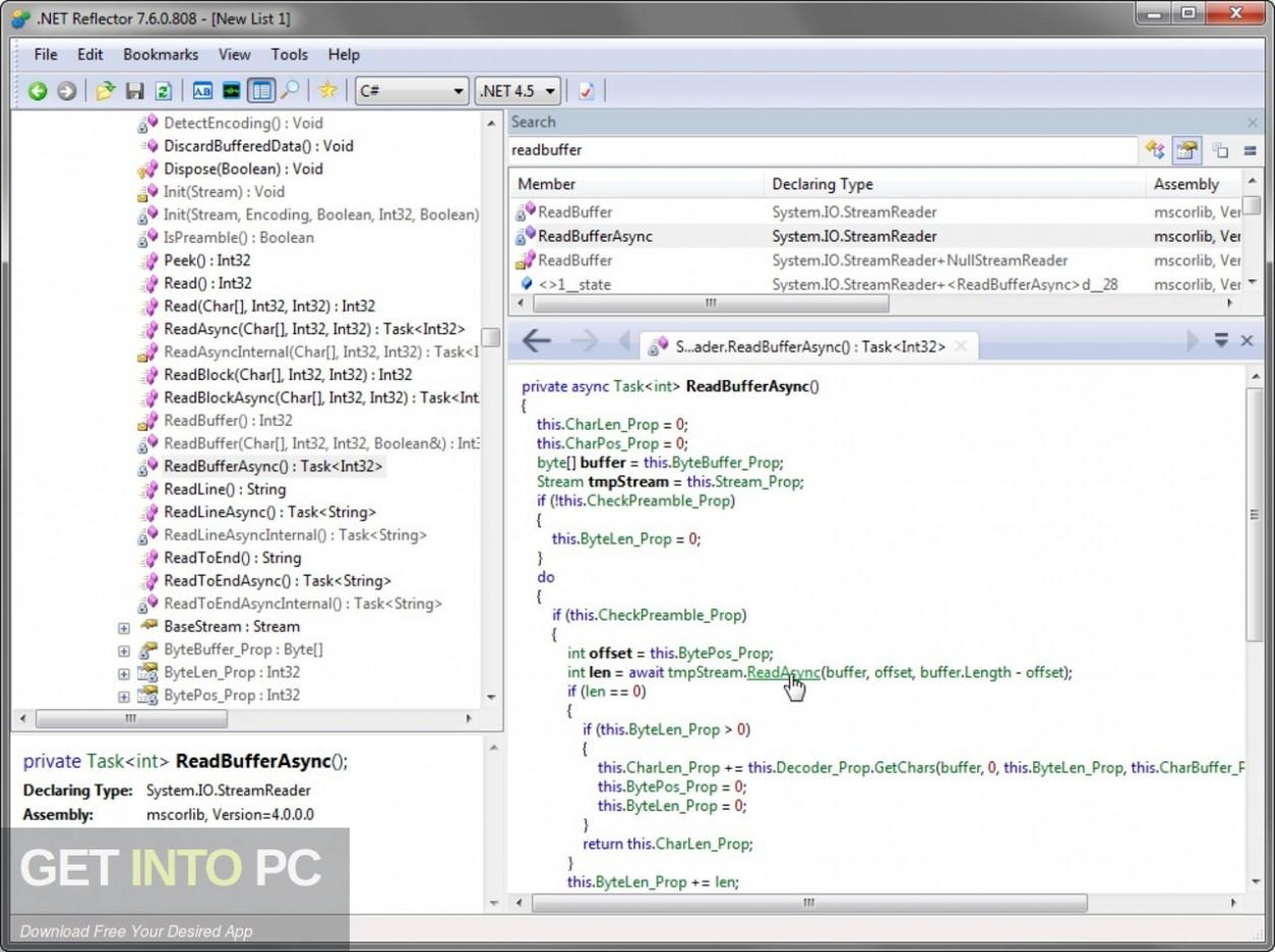 Red Gate .NET Reflector 2020 Offline Installer Download