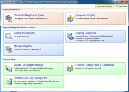 Registry First Aid Platinum Setup Free Download