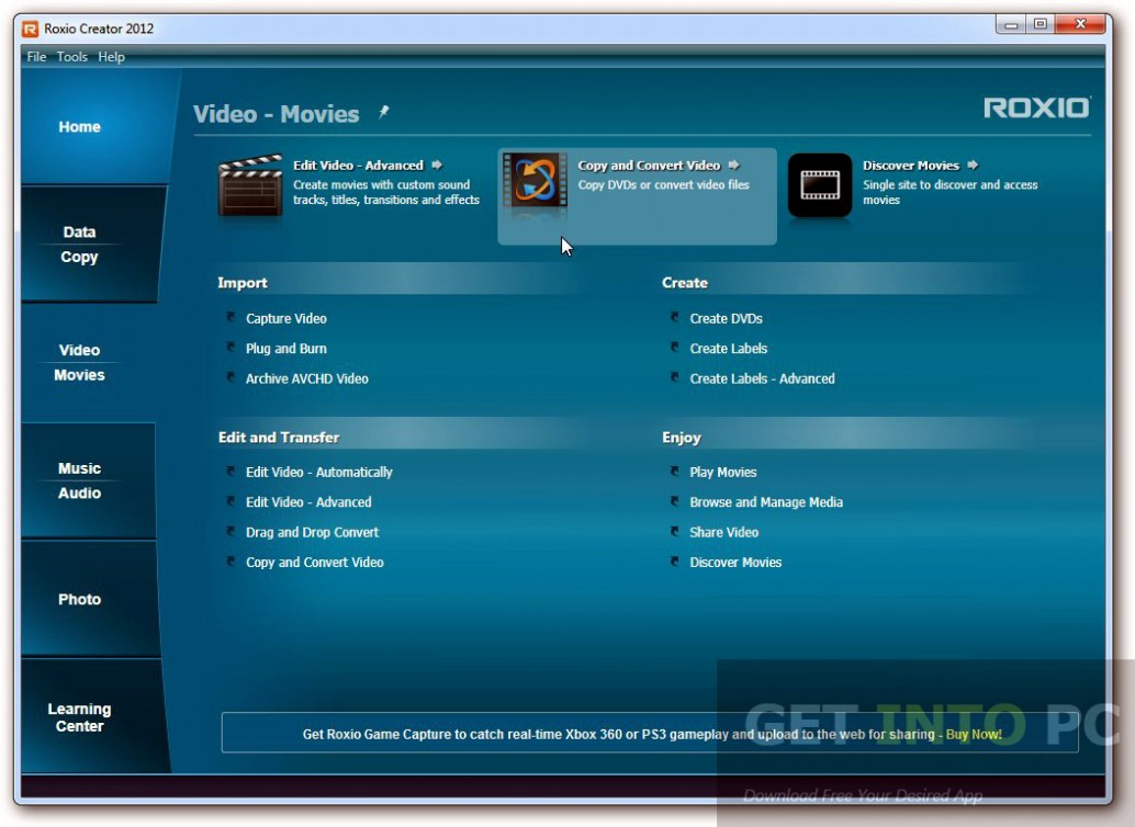 ROXIO Creator 2012 Pro Direct Link Download