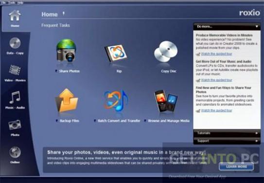 ROXIO Creator 2012 Pro Offline Installer Download