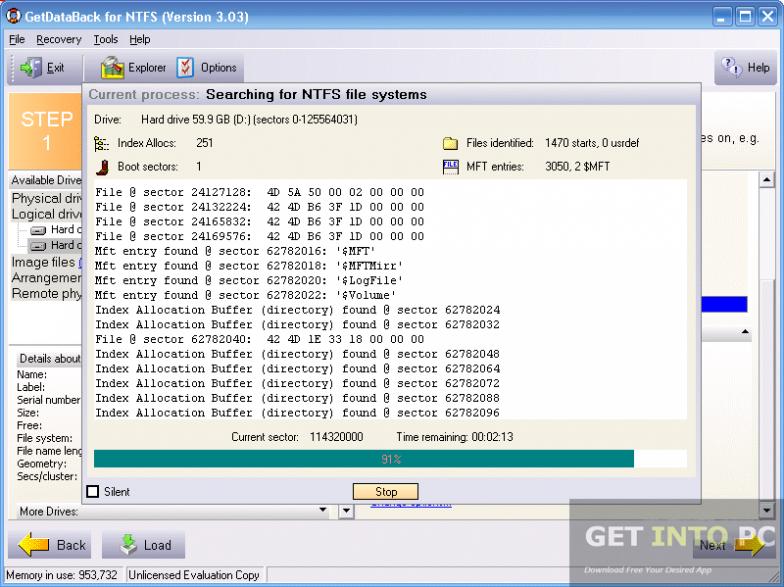Runtime GetDataBack for FAT and NTFS Offline Installer Download
