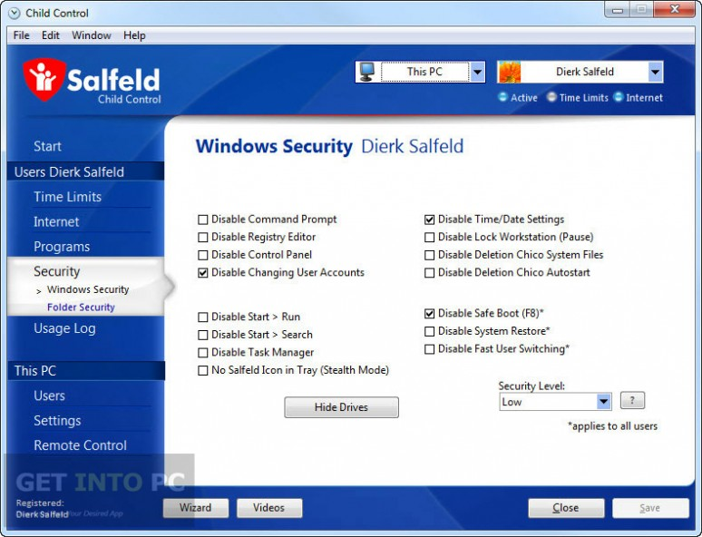 Salfeld Child Control Direct Link Download