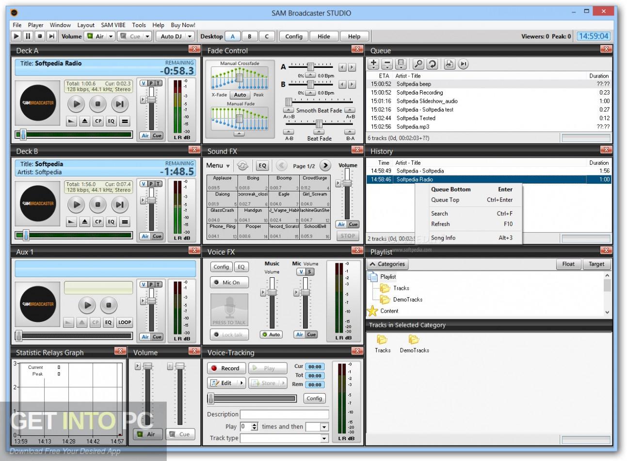 Sam Broadcaster Pro Direct Link Download-GetintoPC.com