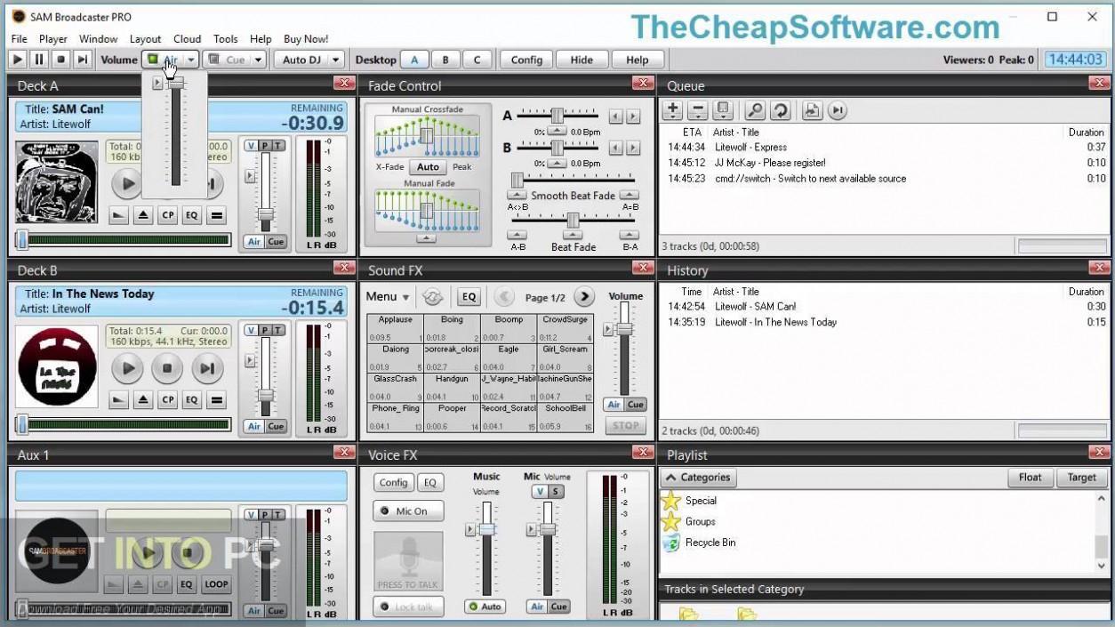 Sam Broadcaster Pro Latest Version Download-GetintoPC.com