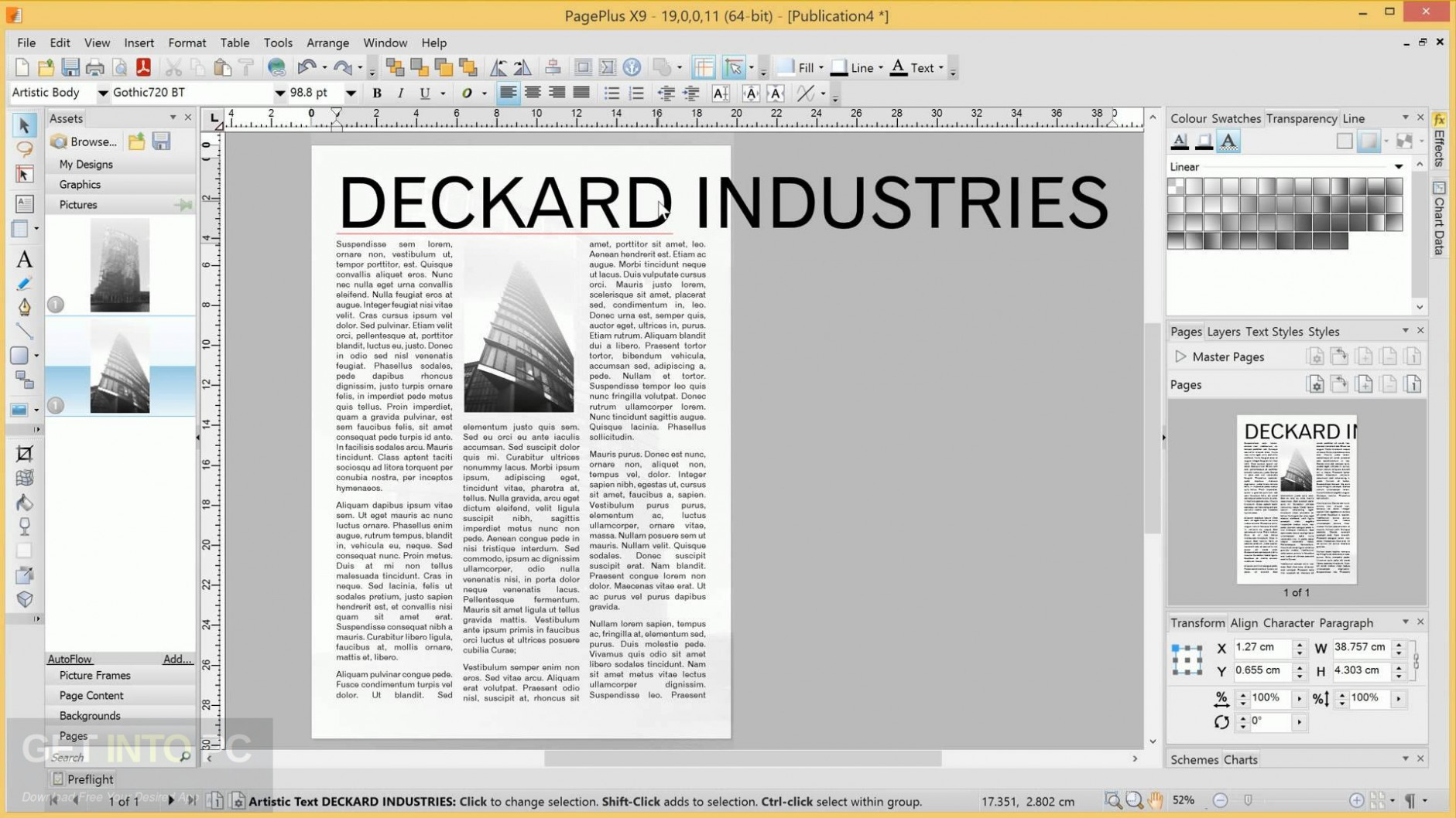 Serif PagePlus X9 Direct Link Download