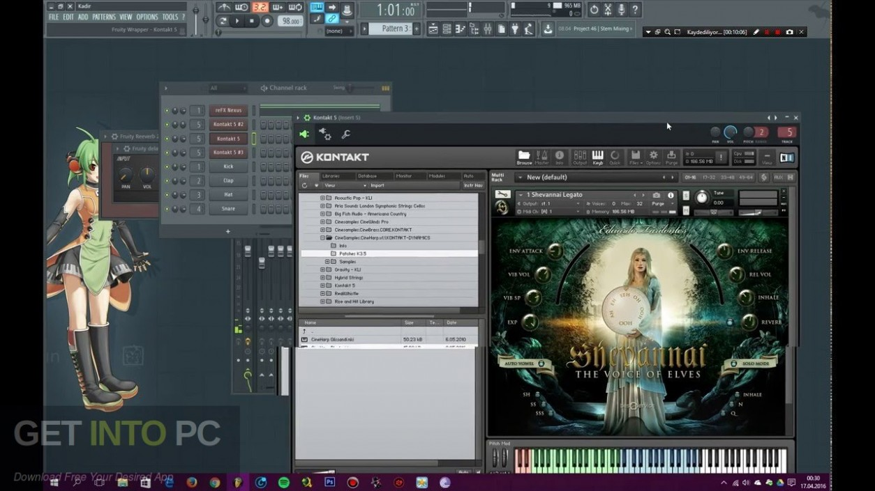 Shevannai the Voices of Elves KONTAKT Library Latest Version Download-GetintoPC.com