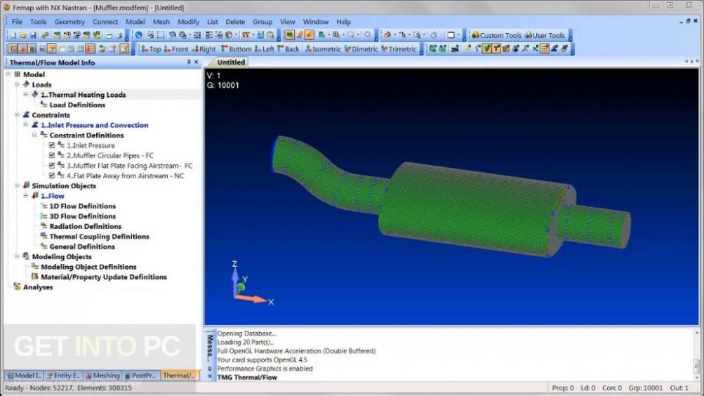 Siemens FEMAP 11.4.2 with NX Nastran Direct Link Download