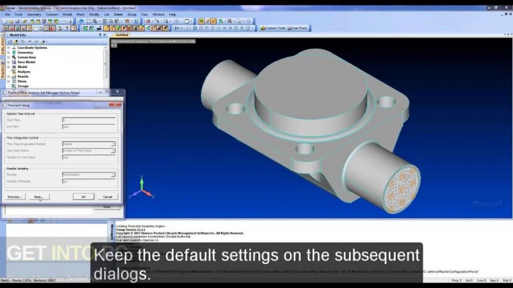 Siemens FEMAP 11.4.2 with NX Nastran Latest Version Download