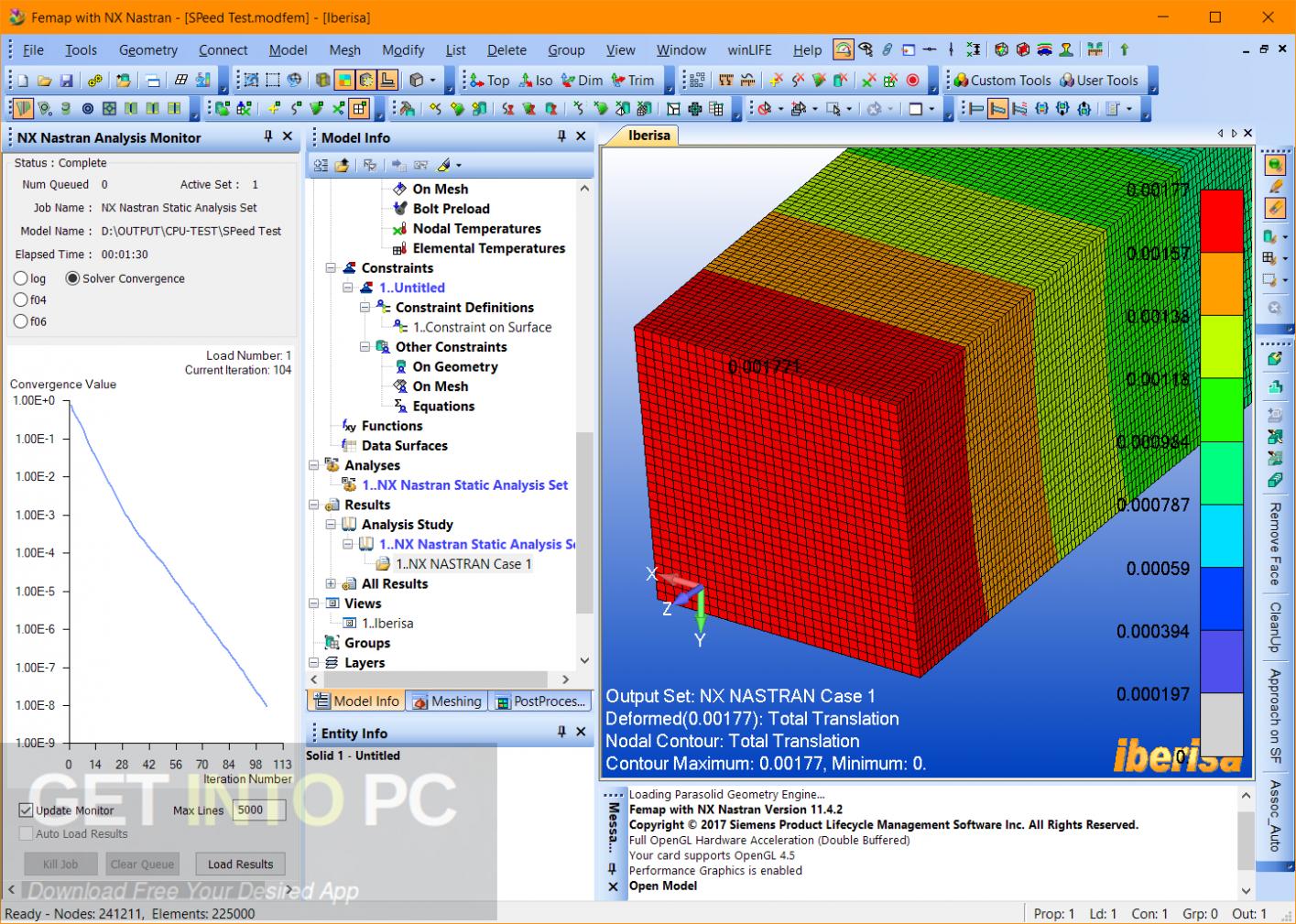 Siemens FEMAP 11.4.2 with NX Nastran x64 Latest Version Download
