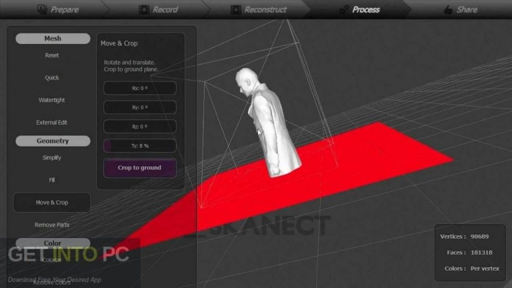 Skanect Pro 1.8.4 Direct Link Download-GetintoPC.com