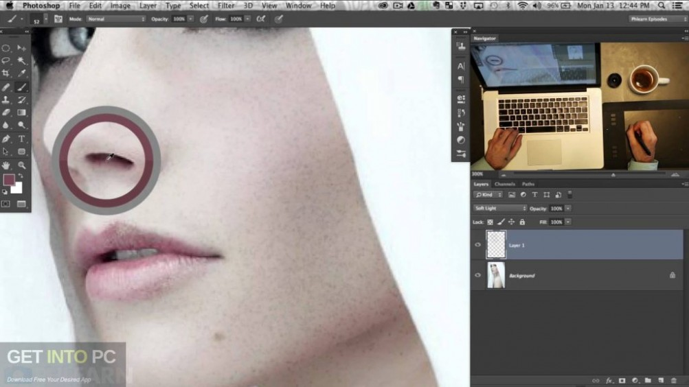 Skin Finer 2 Photoshop Plugin Direct Link Download-GetintoPC.com