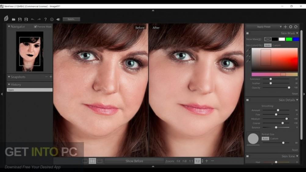 Skin Finer 2 Photoshop Plugin Offline Installer Download-GetintoPC.com