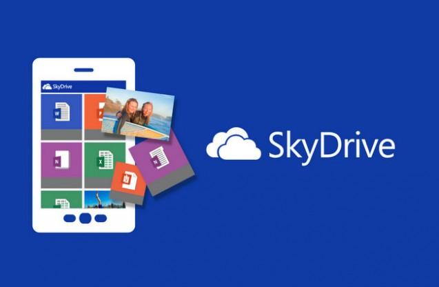 SkyDrive storage