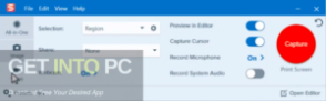 Snagit 2020 Direct Link Download-GetintoPC.com