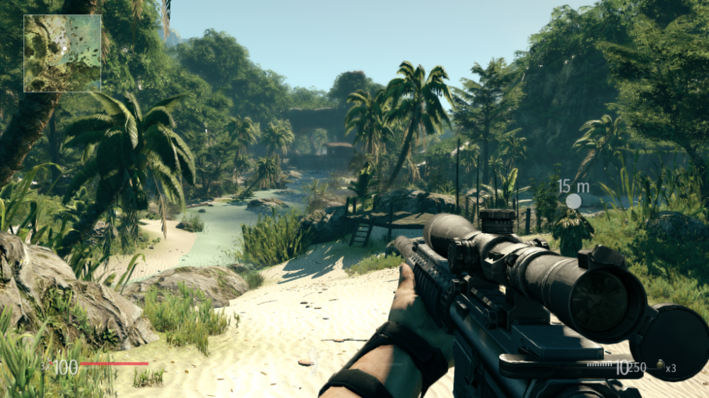 sniper ghost warrior 2 game play