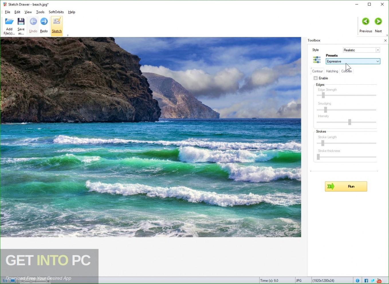 SoftOrbits Sketch Drawer Pro Direct Link Download-GetintoPC.com