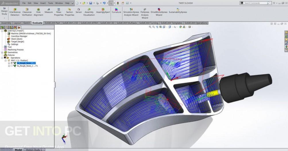 SolidCAM 2017 SP2 HF3 for SolidWorks 2012-2018 Direct Link Download