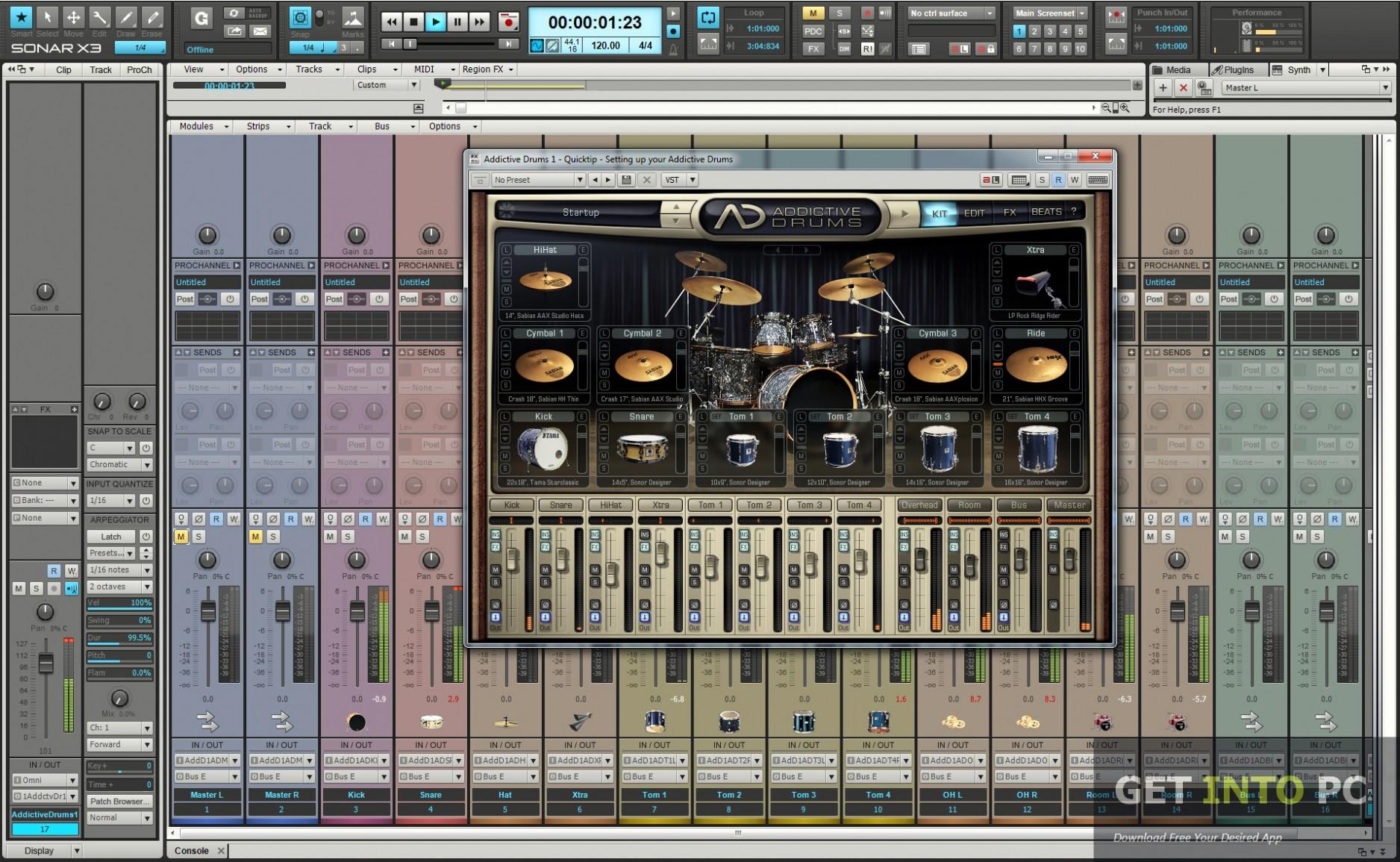 Cakewalk SONAR X3 Producer Edition For Windows