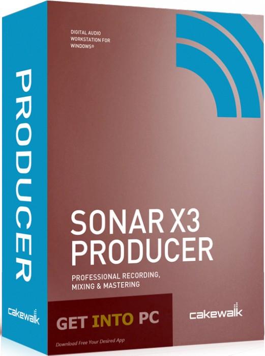 Cakewalk SONAR X3 Producer Edition Free Download