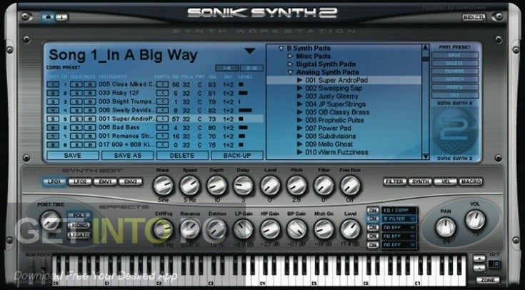 Sonik Synth 2 VSTi Offline Installer Download-GetintoPC.com