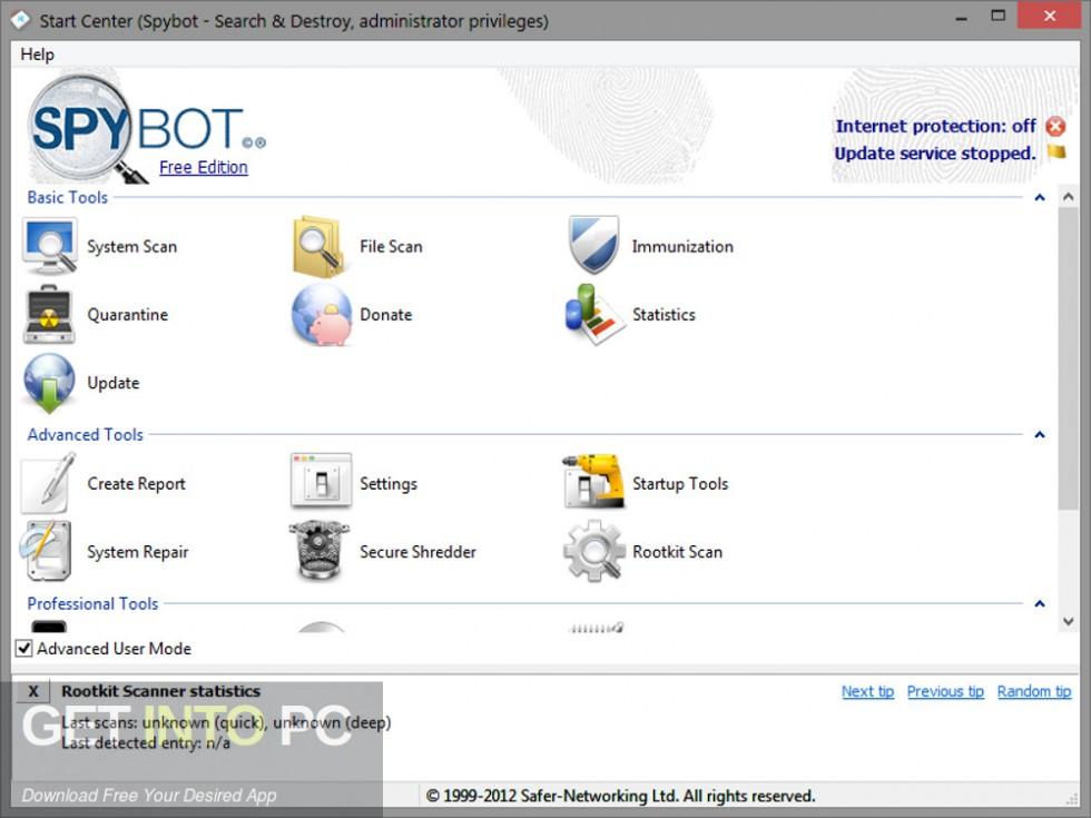 Spybot Search & Destroy Offline Installer DOwnload-GetintoPC.com