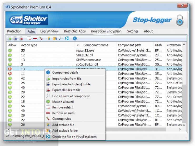 SpyShelter Offline Installer Download