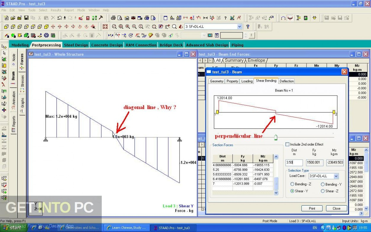 STAAD Pro RCDC V8i Free Download