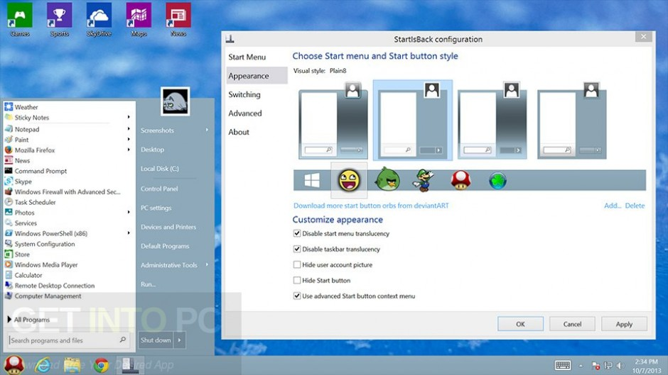 StartIsBack ++ 2.6.1 for Windows 10 Direct Link Download