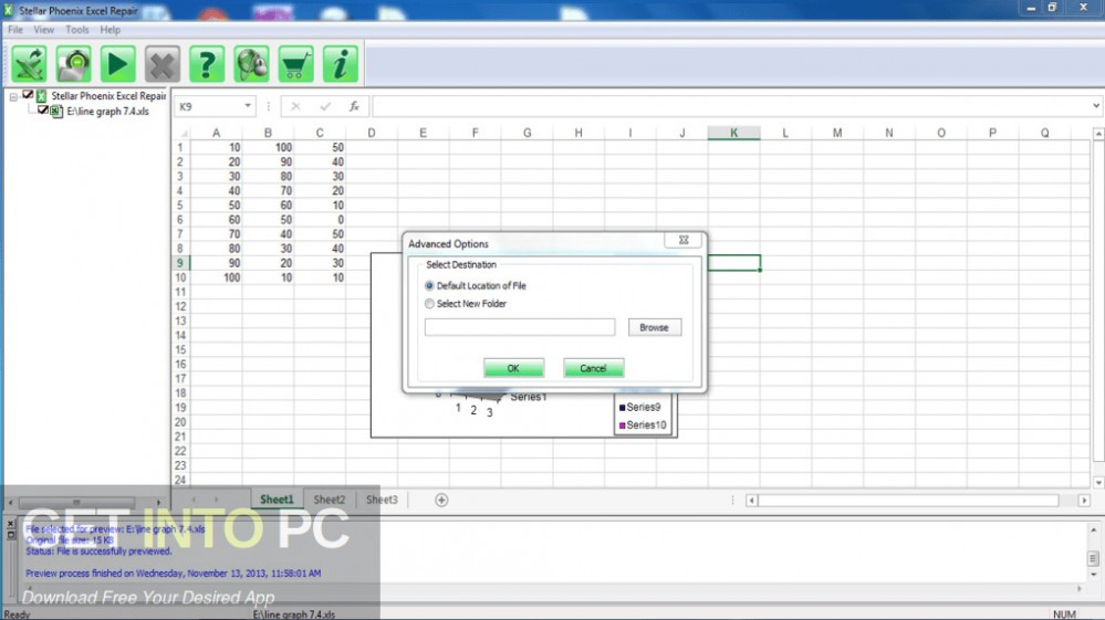 Stellar Phoenix Excel Recovery Direct Link Download-GetintoPC.com