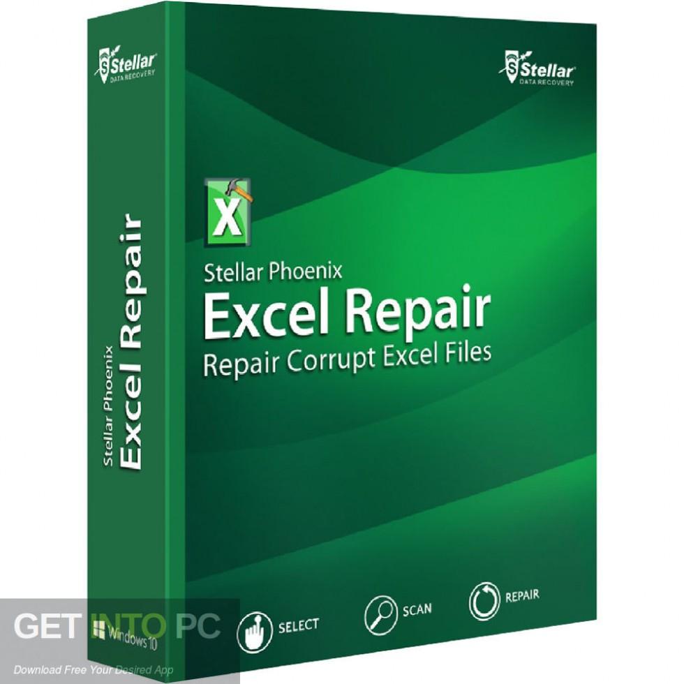 Stellar Phoenix Excel Recovery Free DOwnload-GetintoPC.com