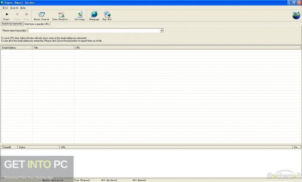 Super Email Spider Latest Version Download-GetintoPC.com