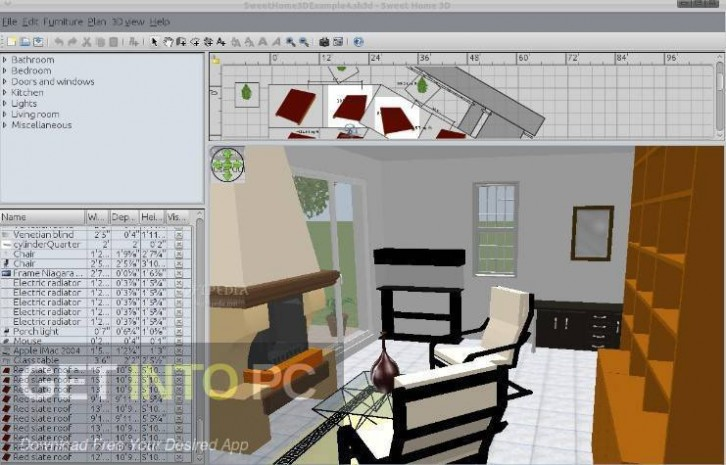 Sweet Home 3D 6 Free Download