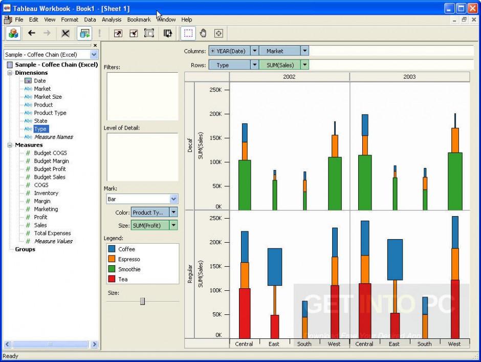 Tableau Desktop v9.3 Professional Offline Installer Download